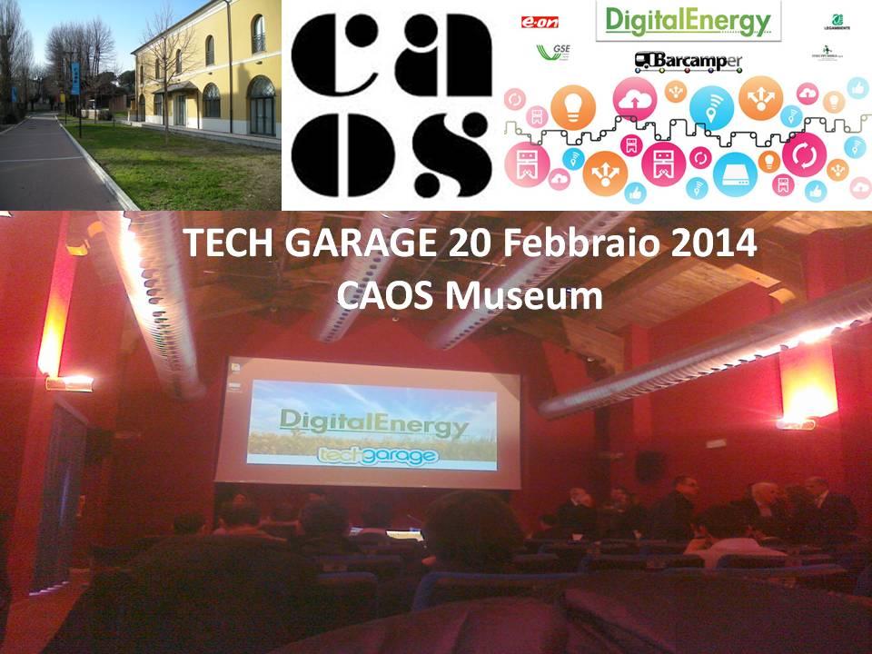 Tech Garage 20 Feb 14 caos museum