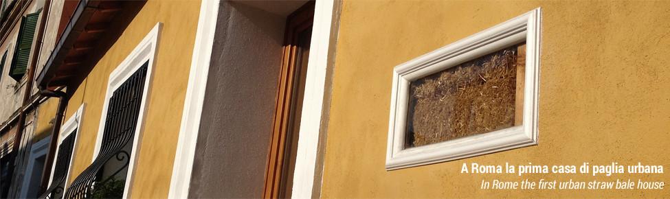 Quella casa di paglia a roma teris energia for Costo per costruire una casa di 1500 piedi quadrati