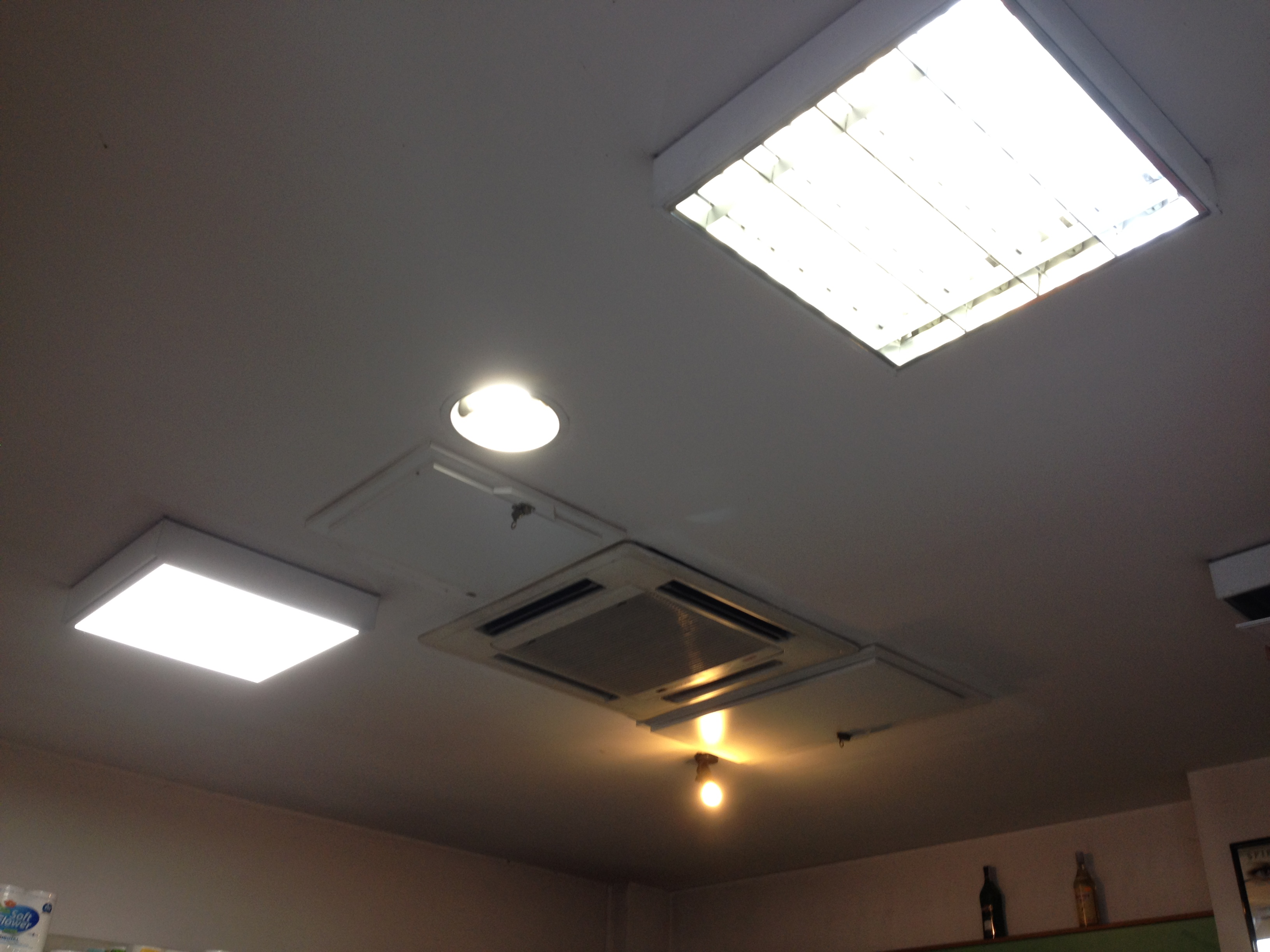 Illuminazione a led per u calimentari campisanou d teris energia